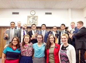 Our Zone! They are so crazy! Elder Pereira, Elder Evans, Elder Barlett, Elder Choi, Elder Nolasko, Elder Martz, Elder Sanchez, Elder Leavitt,,Elder Romrill, Hermana Bonilla, me, Hermana  Beggs, Sister Inman, and Sister Ritchell.